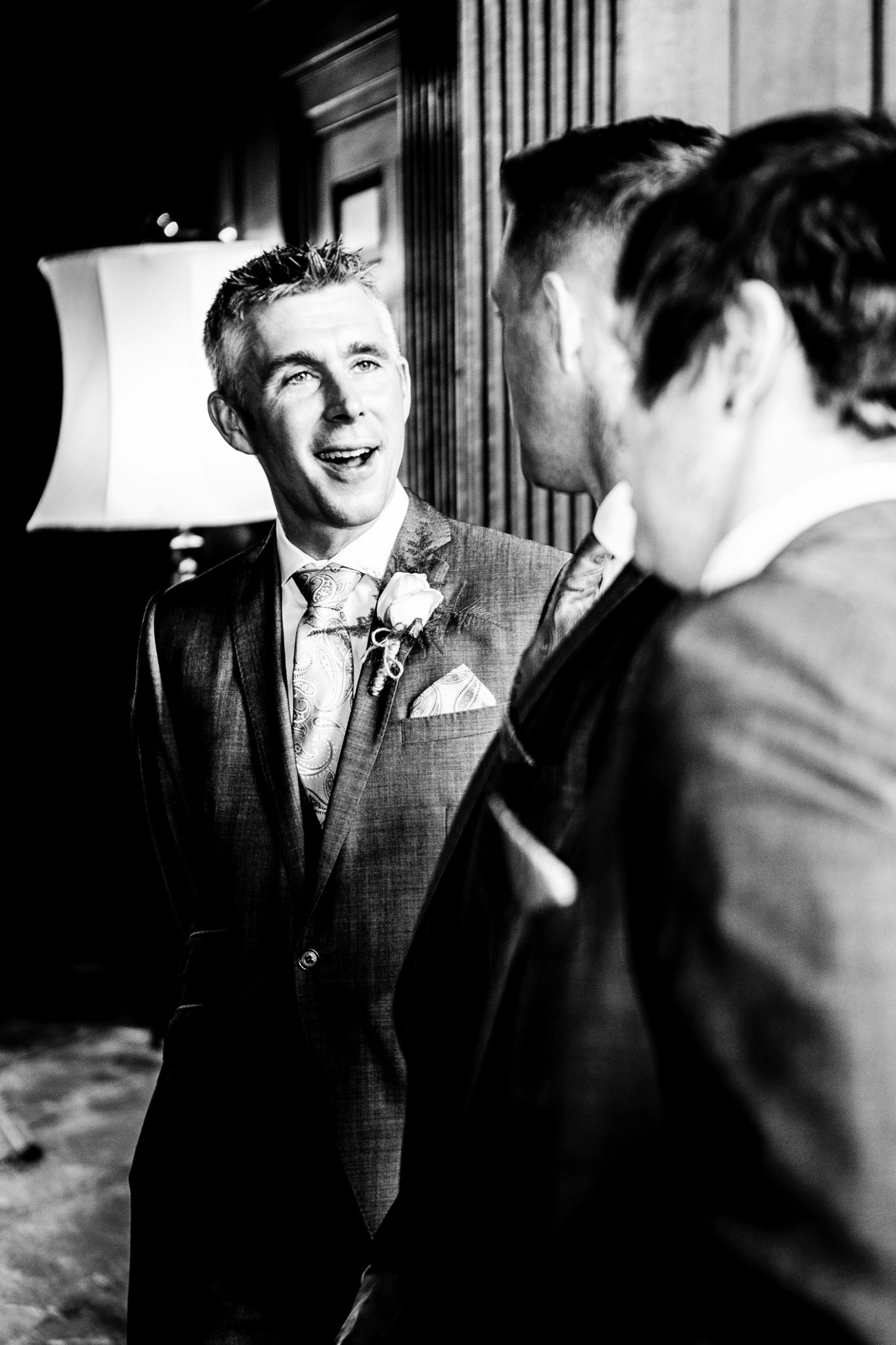 wedding-photography-of-the-groom-after-the-ceremony-at-adlington-hall-cheshire