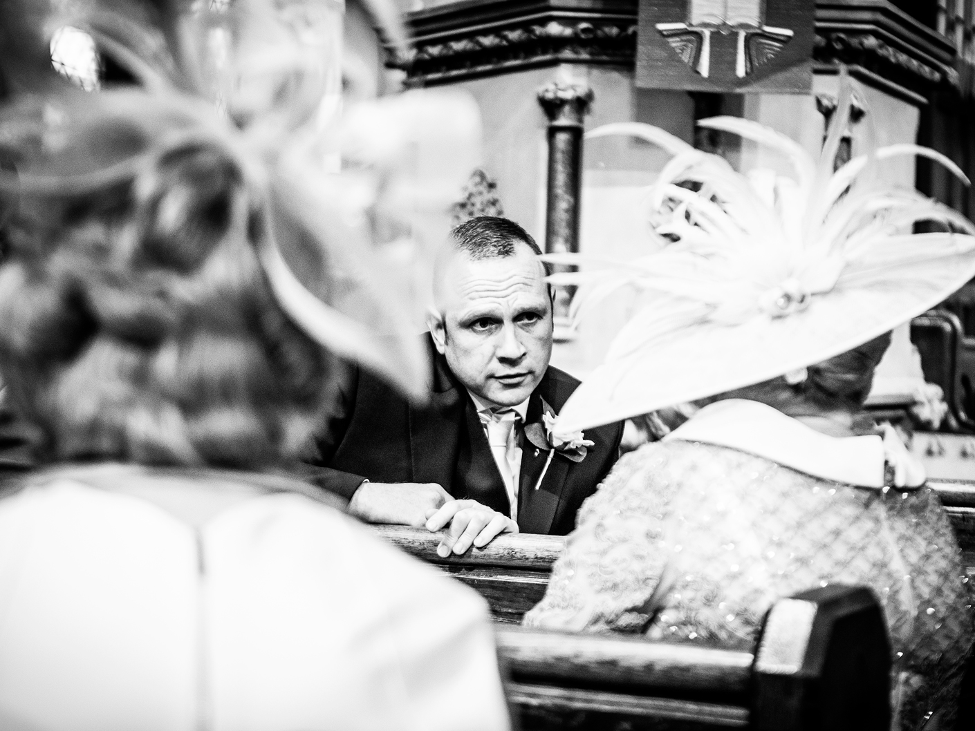 wedding-photography-of-the-groom-at-the-church-in-wirral